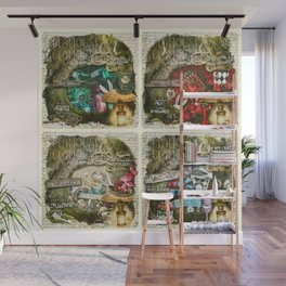 Alice of Wonderland Series Wall Mural