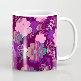 spacy flowes Coffee Mug