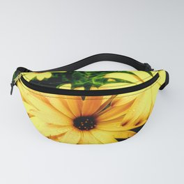 Happy Yellow Flowers Fanny Pack