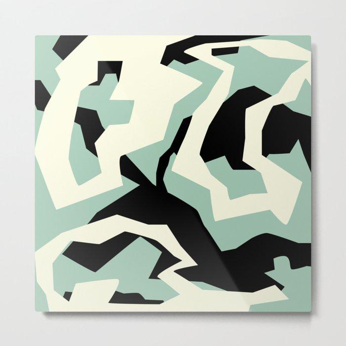 Camouflage:RAW Metal Print