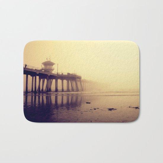 Huntington Beach Pier Bath Mat