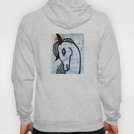 A horse from foreign country Hoody