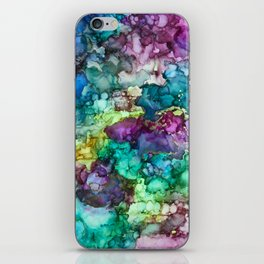 Multicolor Marble Pattern iPhone Skin