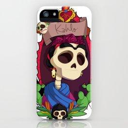Rey Kahlo iPhone Case