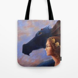 The Dragoness Tote Bag