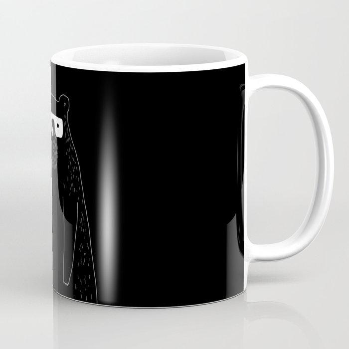 Bear with glasses Coffee Mug