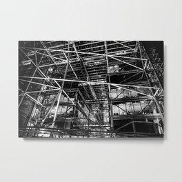 Steel & Glass Metal Print