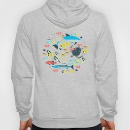 Coral reef animals Hoody