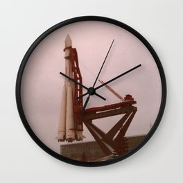 My Father's Travels IV Wall Clock