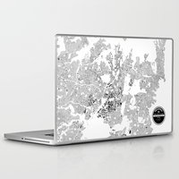 sydney Laptop & iPad Skins featuring SYDNEY by Maps Factory
