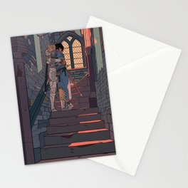 Secret and Sad farewell Stationery Cards