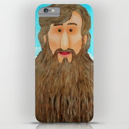 Jim's Amazing Beard iPhone Case