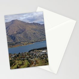 Mountains by the Lake Stationery Cards