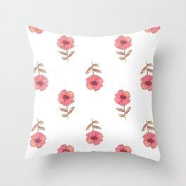 a flower is a flower is Throw Pillow