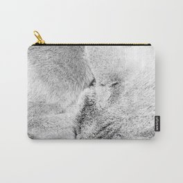 Cat Fur Carry-All Pouch