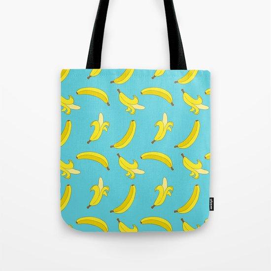 Banana Pattern #society6 #prints #home #decor Tote Bag