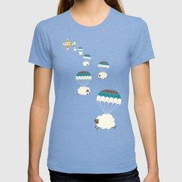 Sheepy clouds T-shirt