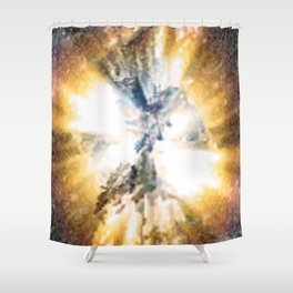 See The Light Shower Curtain