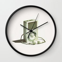 Lo-Fi goes 3D - Classic Music Player - first generation iPod Wall Clock