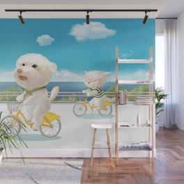 Biking Wall Mural