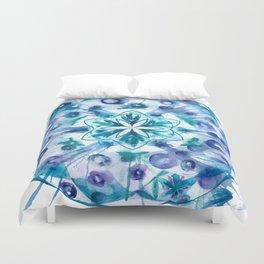 Snow Mandala Duvet Cover