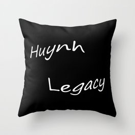 Huynh Legacy (Inverted) Throw Pillow