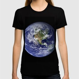 Planet Earth - The Blue Marble From Space T-shirt