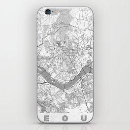 Seoul Map Line iPhone Skin