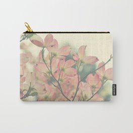 Vintage Dogwoods Carry-All Pouch