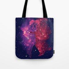 Universes Collide Tote Bag