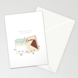 Fall in love - Ingredienti coraggiosi Stationery Cards