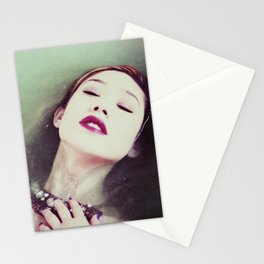 In Sync With Self Stationery Cards