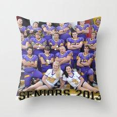 seniors 2013 Throw Pillow