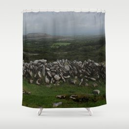 The Irish Wild West (County Clare) Shower Curtain