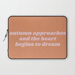 autumn approaches Laptop Sleeve