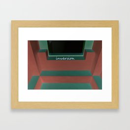 Inversion Framed Art Print