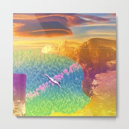 High Dive Metal Print