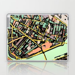 Abstract Map Cambridge MA Laptop & iPad Skin