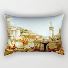 Cole Thomas The Consummation The Course of the Empire Rectangular Pillow