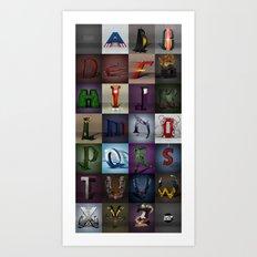 Superbet A-Z Art Print