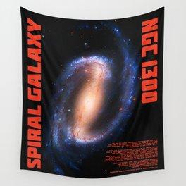 Spiral Galaxy NGC1300 Wall Tapestry