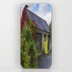 Autumn Barn iPhone & iPod Skin