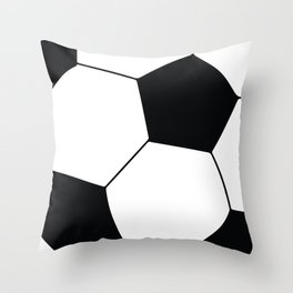 World Cup Soccer Ball - 1970 Throw Pillow