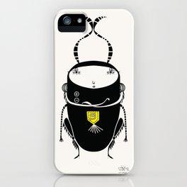 black cricket iPhone Case