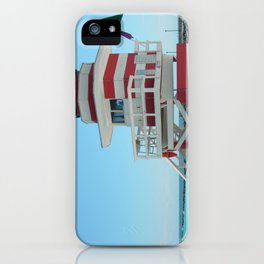 lifeguard shack 2 iPhone Case