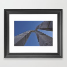 Trompe l'oeil Framed Art Print
