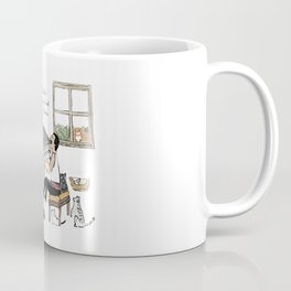 Freddie and his Cats Coffee Mug