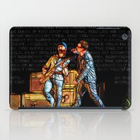 u2 iPad Cases featuring U2 / Bono / Edge / Until The End Of The World by JR van Kampen