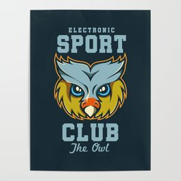 Electronic Sport Club Poster