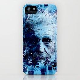 Albert Einstein 2 iPhone Case